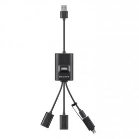 Belkin F4U046cw 4 portos USB elosztó