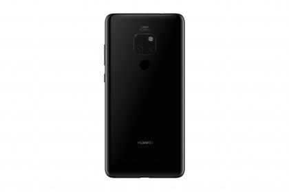 Huawei Mate 20 128GB Dual Sim Éjfekete Okostelefon (51092YVV)
