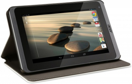 Acer Portfolio Case B1-72x fehér tablet tok (HP.BAG11.00F)