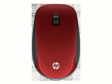 HP Z4000 wireless optikai vörös-fekete egér (E8H24AA)