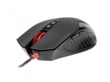 A4-Tech Bloody V5M USB optikai fekete gamer egér