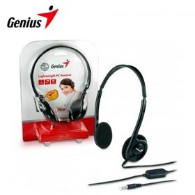 Genius HS-M200C fekete mikrofonos headset (31710151103)