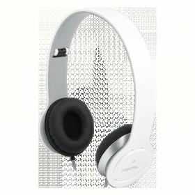 LogiLink HS0029  mikrofonos fehér fejhallgató