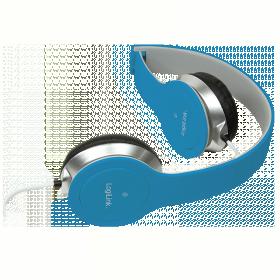LogiLink mikrofonos fejhallgató, kék (HS0031)