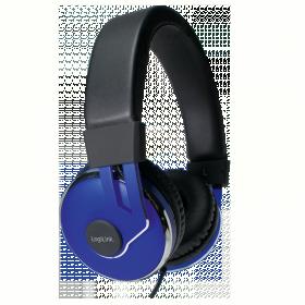 LogiLink  HS0040 Sztereó mikrofonos fejhallgató
