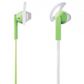 Hama Joy Sport mikrofonos fehér-zöld headset (122685)
