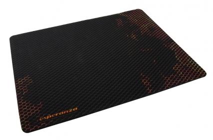 ESPERANZA FLAME fekete-piros gamer egérpad (EA146R)