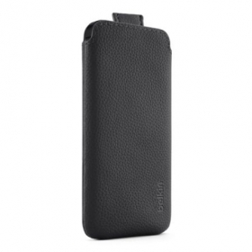 Belkin Pocket Case fekete iPhone 5/5S telefontok (F8W123VFC00)