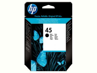 HP 45 fekete tintapatron (51645GE)