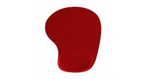 VAKOSS  PD-424RD  zselés csuklótámaszos piros egérpad