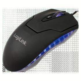Logilink ID0009A USB/PS/2 lézer fekete egér