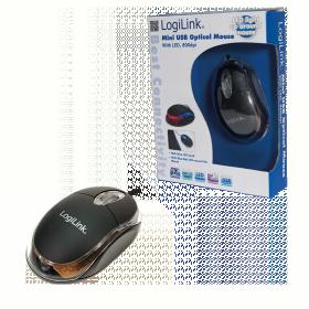 Logilink ID0010 USB optikai fekete egér