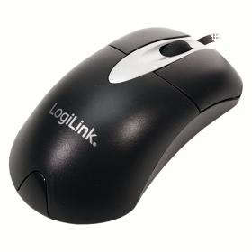 Logilink ID0011 USB optikai fekete egér