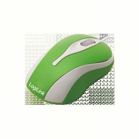 Logilink ID0024 USB optikai zöld-fehér egér
