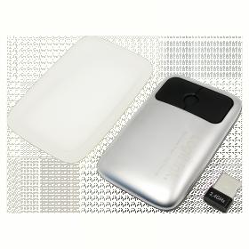 LogiLink ID0079 wireless optikai szürke fém egér
