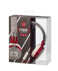 Trust Urban Fyber mikrofonos szürke-piros headset (20073)