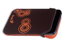 Genius GS-701P barna 7'' tablet tok + stílus ceruza (39700011101)