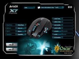 A4-Tech X-755BK USB lézer fekete gamer egér