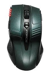 Gigabyte M9 wireless optikai zöld-fekete egér