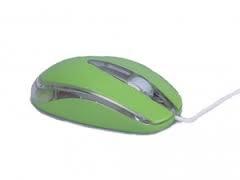 M-Tech MT511 USB optikai zöld egér (MT-511Z)