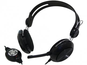 Canyon CNE-CHSU1B USB mikrofonos fekete headset