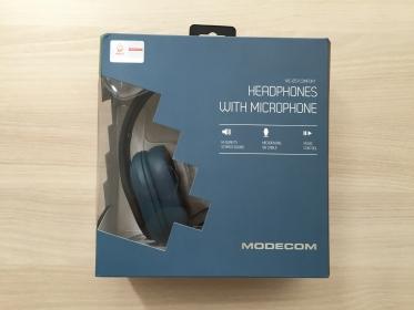 Modecom MC-851 Comfort Kék Fejhallgató (S-MC-851-COMFORT-BLU_Sérült)