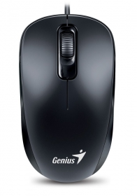 GENIUS  DX 110 PS/2 optikai fekete egér (DX_110_PS2_BLACK)
