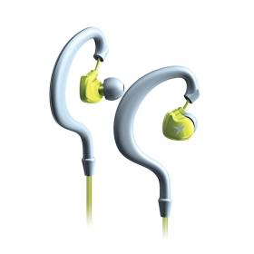 Genius HS-M270 ezüst-zöld mikrofonos mobil headset (31710195100)