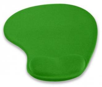 4World 10101 zselés csuklótámaszos zöld egérpad