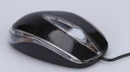 M-Tech MT511 USB optikai fekete egér (MT-511B)