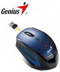Genius  NX-6550 wireless optikai kék egér (31030106102)