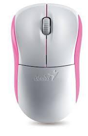 Genius  Netscroll 6000 wireless optikai fehér-pink egér (31030089112)