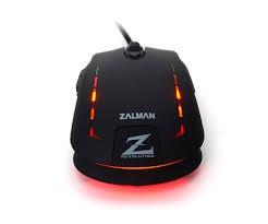 Zalman - ZM-M401R - USB optikai fekete gamer egér