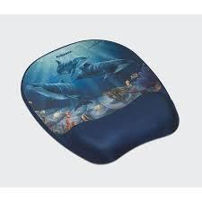 Fellowes Memory Foam csuklótámaszos delfin mintás egérpad (9175701)