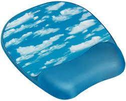 Fellowes Memory Foam csuklótámaszos felhő mintás egérpad (9175901)