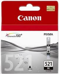 Canon CLI-521Bk fekete tintapatron (2933B001AA)