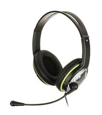 Genius HS-400A fekete-zöld mikrofonos headset (31710169100)