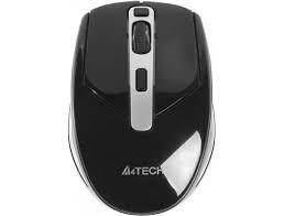 A4Tech V-Track G11-590FX wireless lézer fekete-ezüst egér (A4TMYS43975)