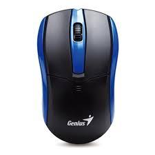 Genius NetScroll 6005 wireless optikai fekete-kék egér (31030100103)