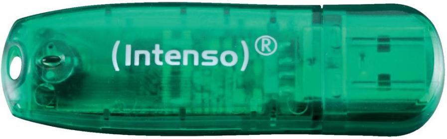Intenso RAINBOW LINE 8GB USB2.0 Zöld Pendrive (3502460)