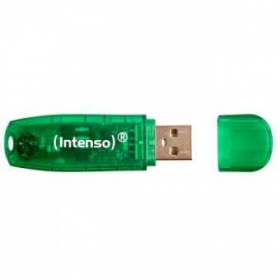 Intenso RAINBOW LINE 8GB USB2.0 Zöld Pendrive (3502460)