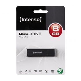 Intenso ALU LINE 8GB USB2.0 Antracit Pendrive (3521461)
