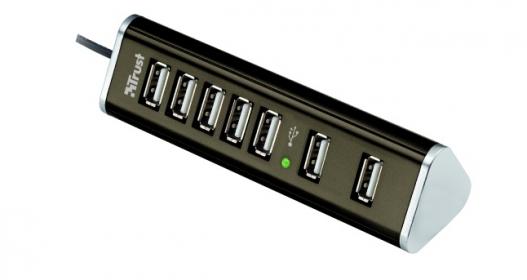 Trust Pyramid 7 portos USB 2.0 hub (15140)