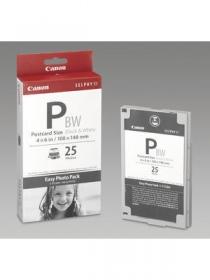 Canon E-P25BW 25 db-os fekete-fehér hőszublimációs fotócsomag (1251B001)