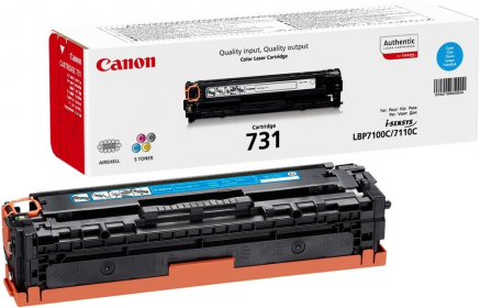 Canon CRG-731C ciánkék toner (6271B002)