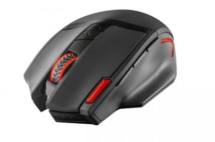 Trust GXT 130 wireless optikai fekete-piros gamer egér (20687)