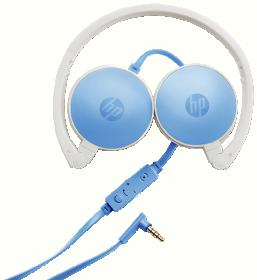 HP H2800 kék mikrofonos fejhallgató(J9C30AA)