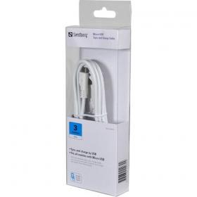 Sandberg KS072 3m USB - microUSB kábel