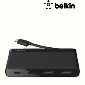 Belkin F4U090BTBLK 4 portos USB-C hub