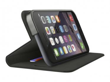 Belkin Classic Folio fekete iPhone 6/6S Plus telefontok (F8W623BTC00)